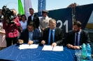 Podpisanie umowy na budowę Morskiego Centrum Nauki (24 lipca 2019)