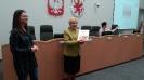 Z uczniami spotkała się Maria Ilnicka-Mądry, Przewodnicząca Sejmiku-10