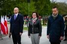 Wiceprzewodnicząca Sejmiku Teresa Kalina podczas uroczystości-4