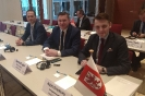 Delegacja Sejmiku WZ na spotkaniu roboczym XVII Forum PRPB -4